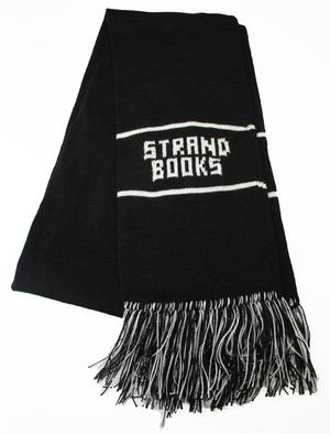 Scarf: Black & White Strand
