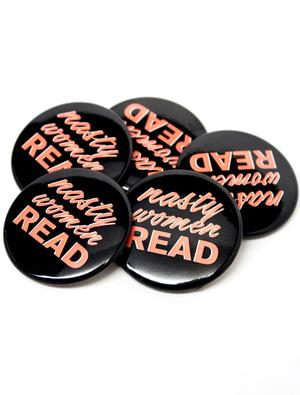 Nasty Women Read Button Combo (5 Pack)
