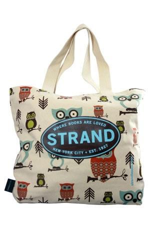 Large Tote: Hooty the Owl