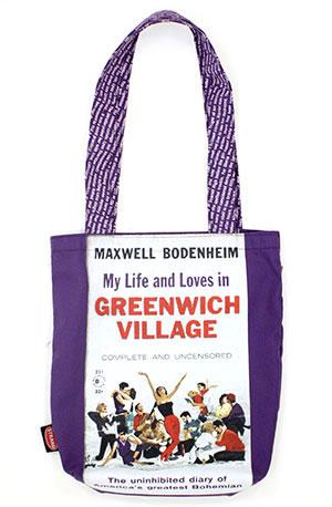 Tote Bag: Pulp My Life & Loves in Greenwich Village
