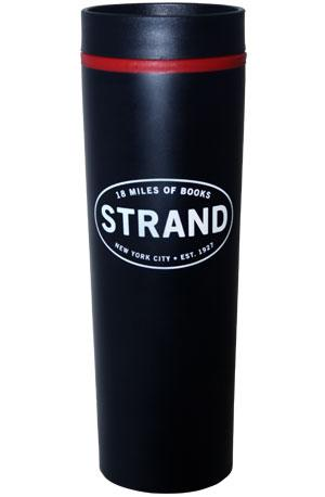 Thermos: Black/Red Strand Oval (Steel) Strand Exclusives