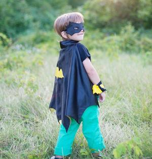 Bat Cape Set (Small) Just for Kids