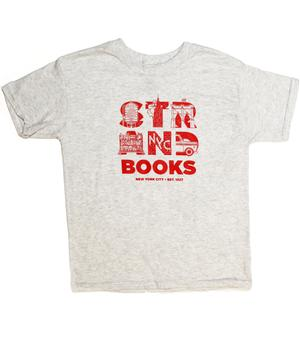 T-Shirt: Youth Strand Letters