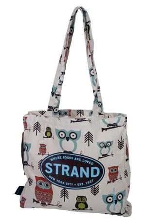 Panel Tote: Hooty the Owl